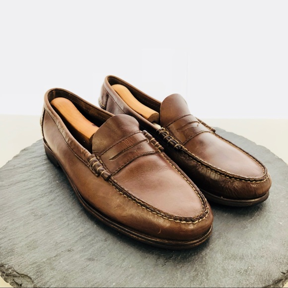 3504716d5e3 Florsheim Other - Florsheim brown leather loafers men s size 10D